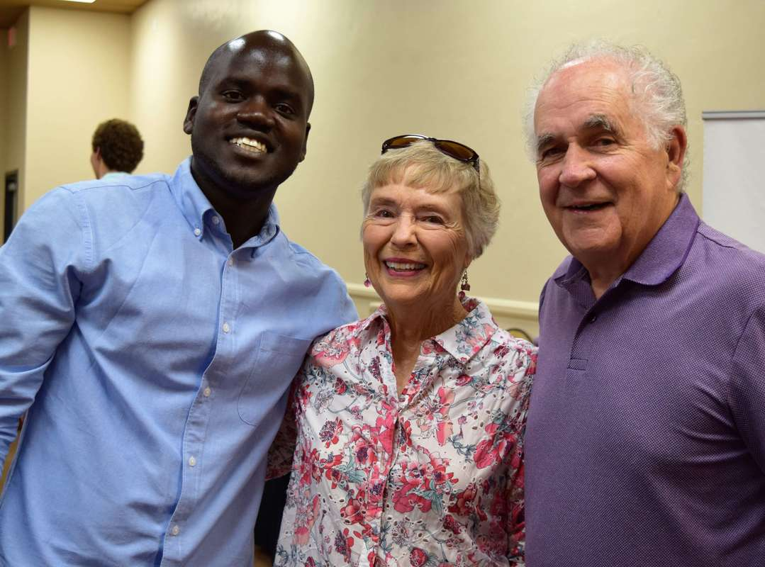 Ezra Dongo, Rebecca and Larry DeWitt